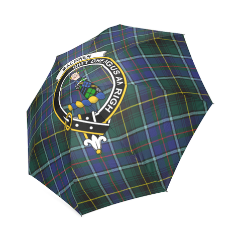 Macinnes Modern Crest Tartan Umbrella TH8