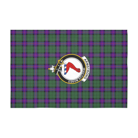 Armstrong Crest Tartan Tablecloth | Home Decor