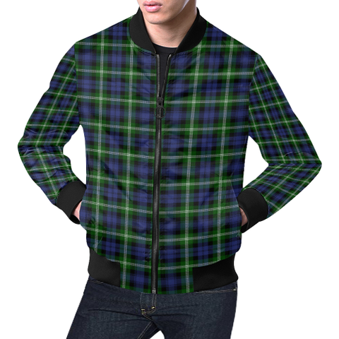 Image of Baillie Modern Tartan Bomber Jacket | Scottish Jacket | Scotland Clothing