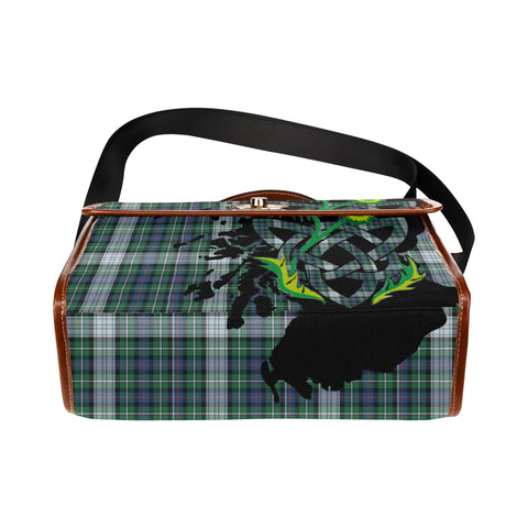 MacKenzie Dress Ancient Tartan Map & Thistle Waterproof Canvas Handbag| Hot Sale