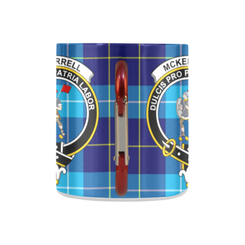 Mckerrell Tartan Mug Classic Insulated - Clan Badge K7