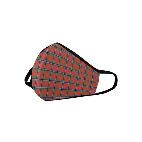 Sinclair Ancient Tartan Mouth Mask With Filter | scottishclans.co