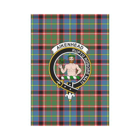 Image of Aikenhead Tartan Flag Clan Badge K7