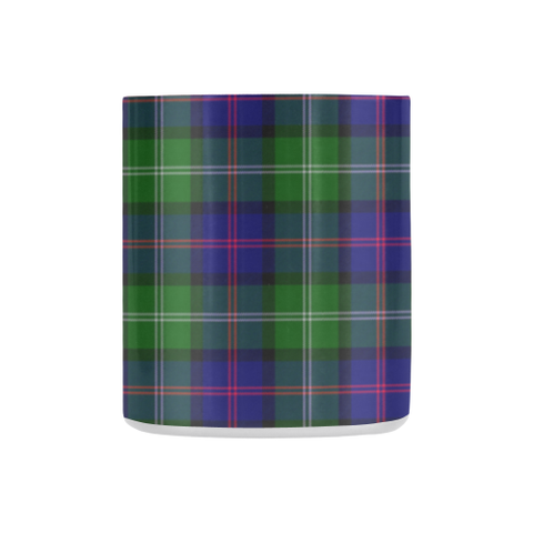 Image of Macthomas Modern Tartan Mug Classic Insulated - Clan Badge K7