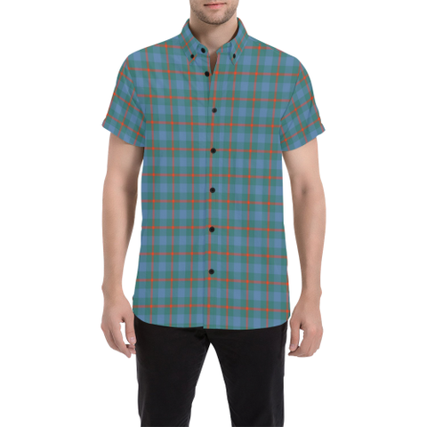 Tartan Shirt - Agnew Ancient | Exclusive Over 500 Tartans | Special Custom Design