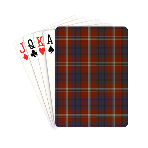 Ainslie Tartan Playing Cards | scottishclans.co