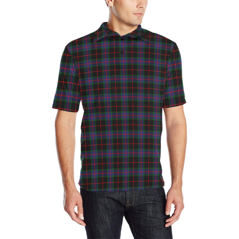 Image of Nairn Tartan Polo Shirt