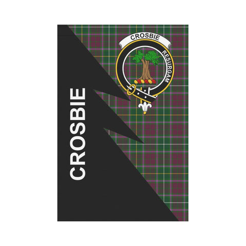 "Crosbie Tartan Garden Flag - Flash Style 12"" x 18"""
