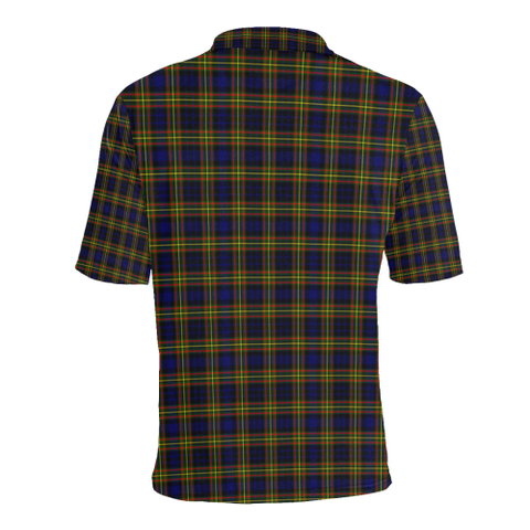Maclellan Modern Tartan Clan Badge Polo Shirt HJ4
