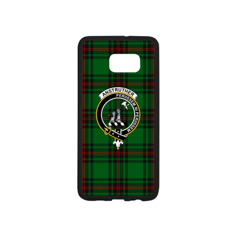 Anstruther Tartan Clan Badge Rubber Phone Case TH8