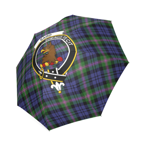 Image of Baird Modern Crest Tartan Umbrella TH8