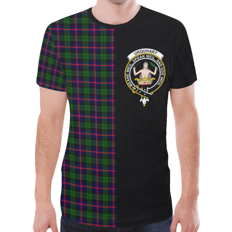 Image of Urquhart Modern T-shirt Half In Me | scottishclans.co