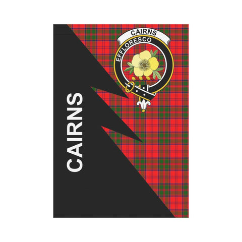 "Cairns Tartan Garden Flag - Flash Style 28"" x 40"""