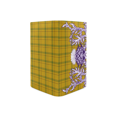 Houston Tartan Wallet Women's Leather Thistle A91