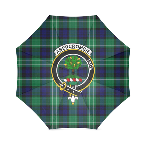 Abercrombie Crest Tartan Umbrella TH8