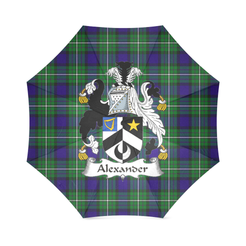 Alexander Crest Tartan Umbrella TH8