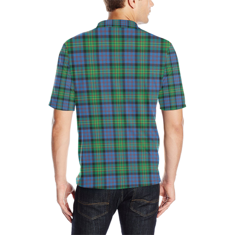 Image of Bowie Ancient Tartan Polo Shirt HJ4
