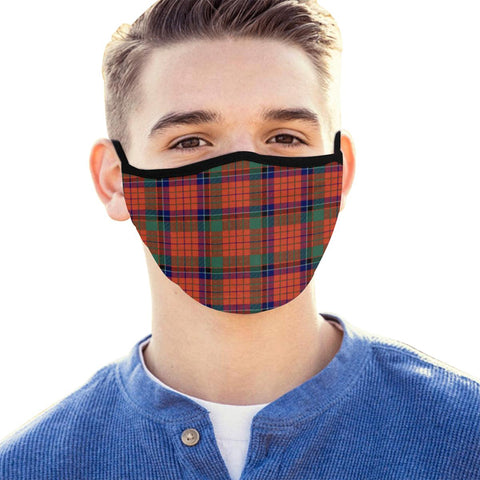 Nicolson Ancient Tartan Mouth Mask With Filter | scottishclans.co