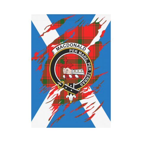 Image of Macdonald Of Sleat Lives In Me Tartan Flag | Scottishclans.co