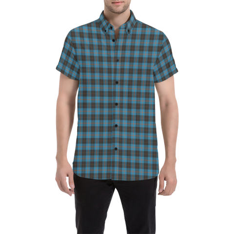 Tartan Shirt - Angus Ancient | Exclusive Over 500 Tartans | Special Custom Design
