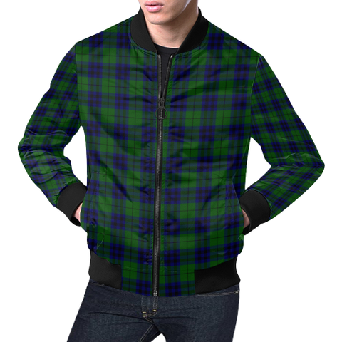 Keith Modern Tartan Bomber Jacket | Scottish Jacket | Scotland Clothing
