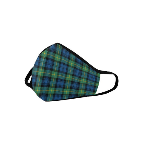 Gordon Ancient Tartan Mouth Mask With Filter | scottishclans.co