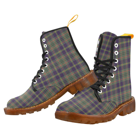 Taylor Weathered  Martin Boot | Scotland Boots | Over 500 Tartans