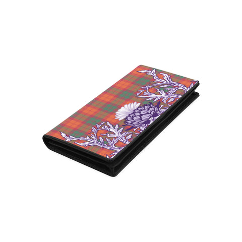 MacNab Ancient Tartan Wallet Women's Leather Wallet A91 | Over 500 Tartan