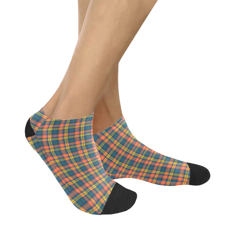 Buchanan Ancient Tartan Ankle Socks K7