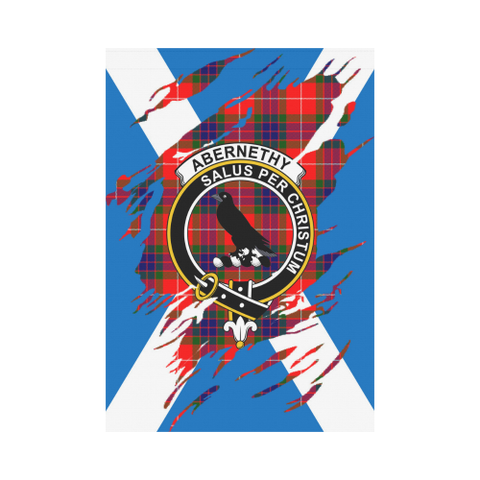 Abernethy Lives In Me Tartan Flag K7