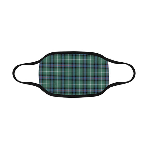 Image of MacDonald of the Isles Hunting Tartan Mouth Mask Inner Pocket K6 (Combo)