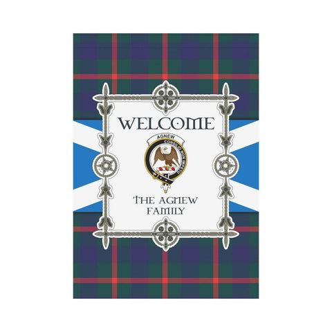 Agnew Tartan Garden Flag - New Version K7