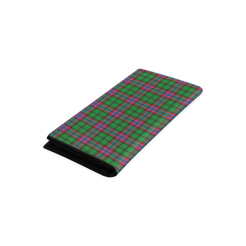 McGeachie Tartan Wallet Women's Leather Thistle A91