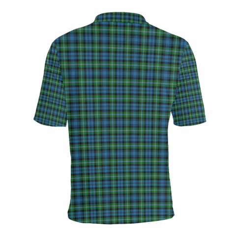 Lyon Clan Tartan Clan Badge Polo Shirt HJ4