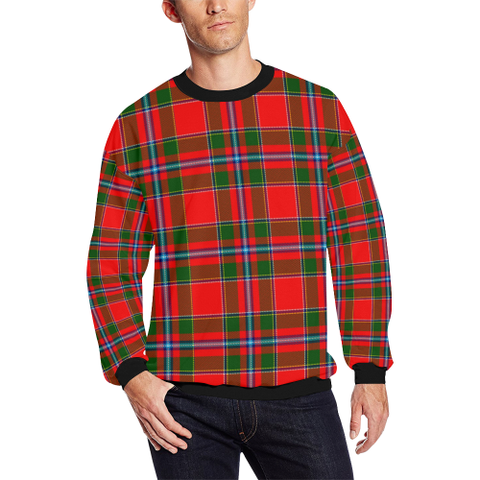 Perthshire District Tartan Crewneck Sweatshirt TH8