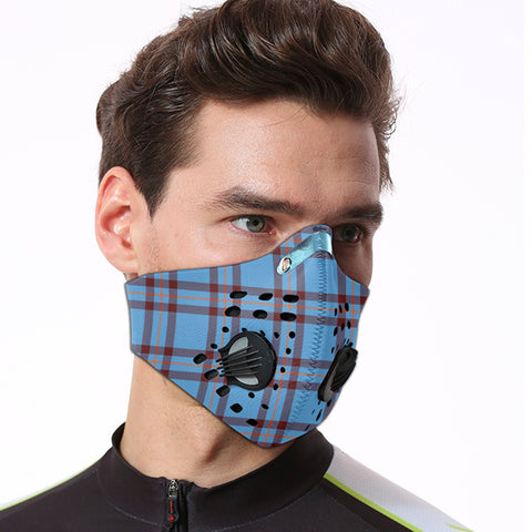 Elliot Ancient Tartan Dust-proof Sports Masks ( Model 1) - TH88 (USA Shipping Line)