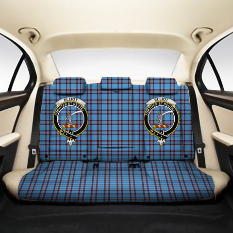 Elliot Ancient Clan Crest Tartan Back Car Seat Covers A7