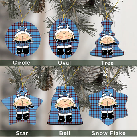 Elliot Ancient Tartan Christmas Decor - Ross Ceramic Ornament - Funny Style A7
