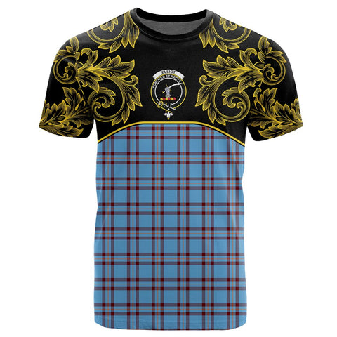 Elliot Ancient Tartan Clan Crest T-Shirt - Empire I - HJT4 - Scottish Clans Store - Tartan Clans Clothing - Scottish Tartan Shopping - Clans Crest - Shopping In scottishclans - T-Shirt - Tee For You