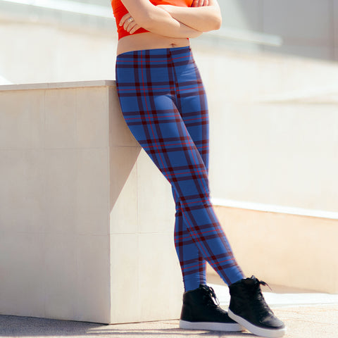 Elliot Modern Tartan Leggings| Over 500 Tartans | Special Custom Design