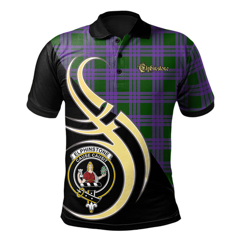 Elphinstone Clan Believe In Me Polo Shirt