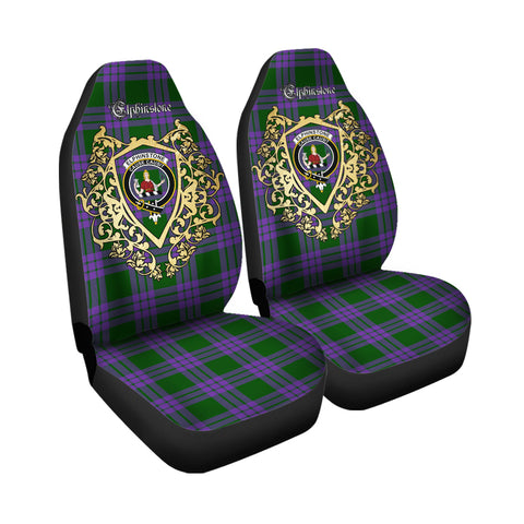 Elphinstone Clan Car Seat Cover Royal Sheild