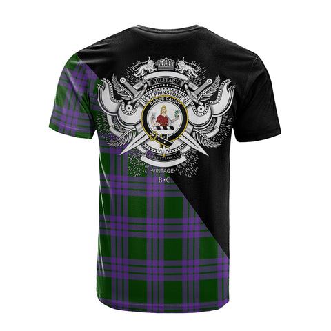 Elphinstone Clan Military Logo T-Shirt K23