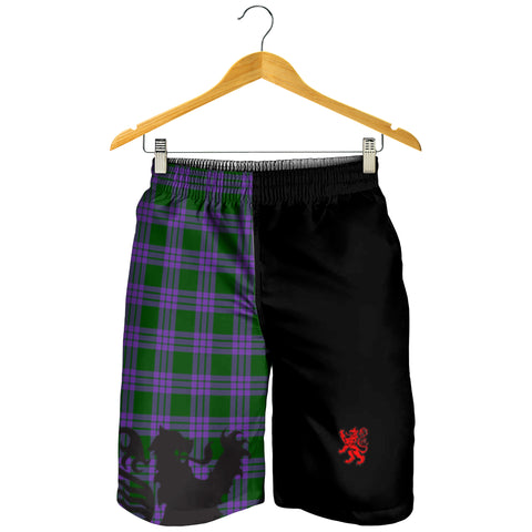 Elphinstone Clan Men Short Lion Rampant