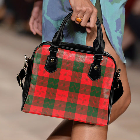 Erskine Modern Tartan Shoulder Handbag for Women | Hot Sale | Scottish Clans
