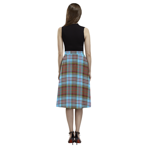 Image of Anderson Ancient Tartan Aoede Crepe Skirt | Exclusive Over 500 Tartan