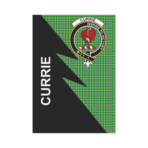 "Image of Currie Tartan Garden Flag - Flash Style 28"" x 40"""