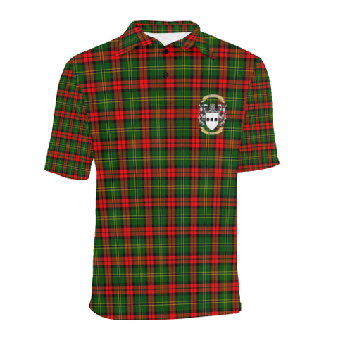 Blackstock Tartan Clan Badge Polo Shirt HJ4