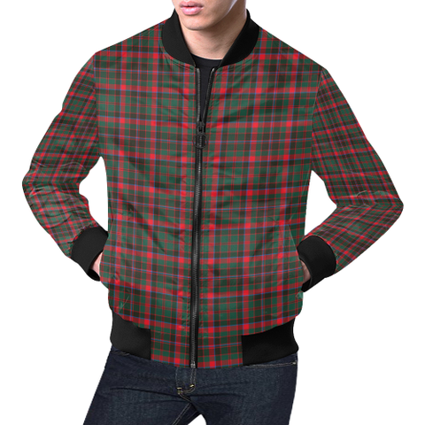 Cumming Hunting Modern Tartan Bomber Jacket | Scottish Jacket | Scotland Clothing