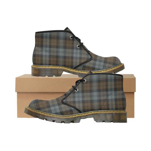 BlackWatch Weathered Tartan Chukka Boot | Over 500 Tartans | Special Custom Design | Love Scotland